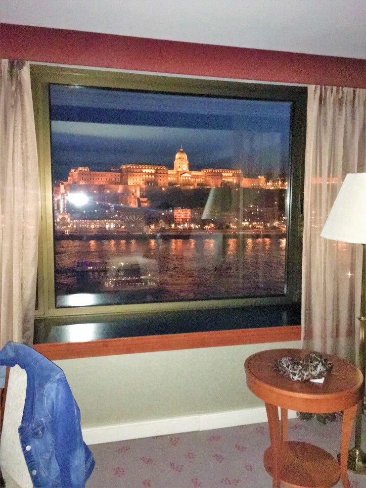 Budapest River View Window
