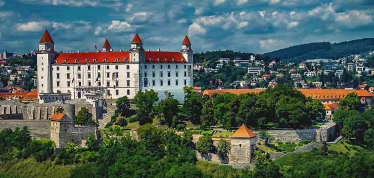 architecture bratislava bratislava castle building